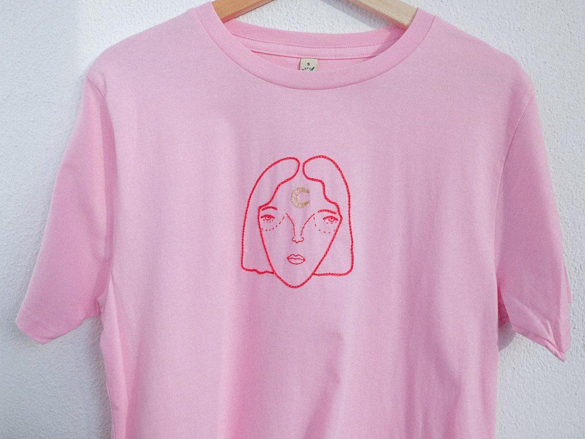 moon face tshirt