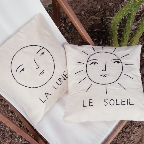 the sun and the moon pillowcase