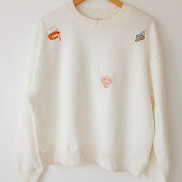 Ocean scene sweatshirt