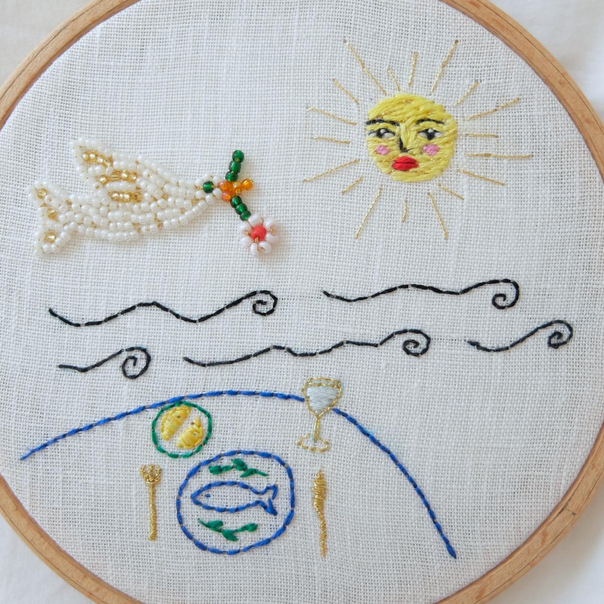 Life in the atlantique hoop detail 2
