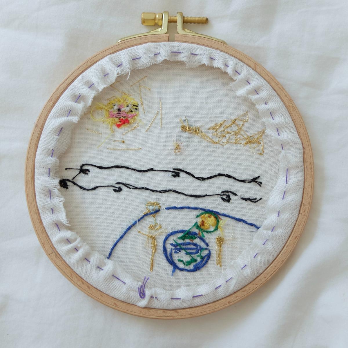 Life in the atlantique hoop backside